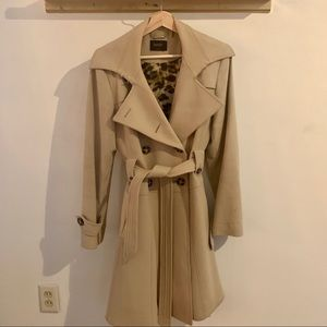 Laundry by Shelli Segal Wool Trench Coat